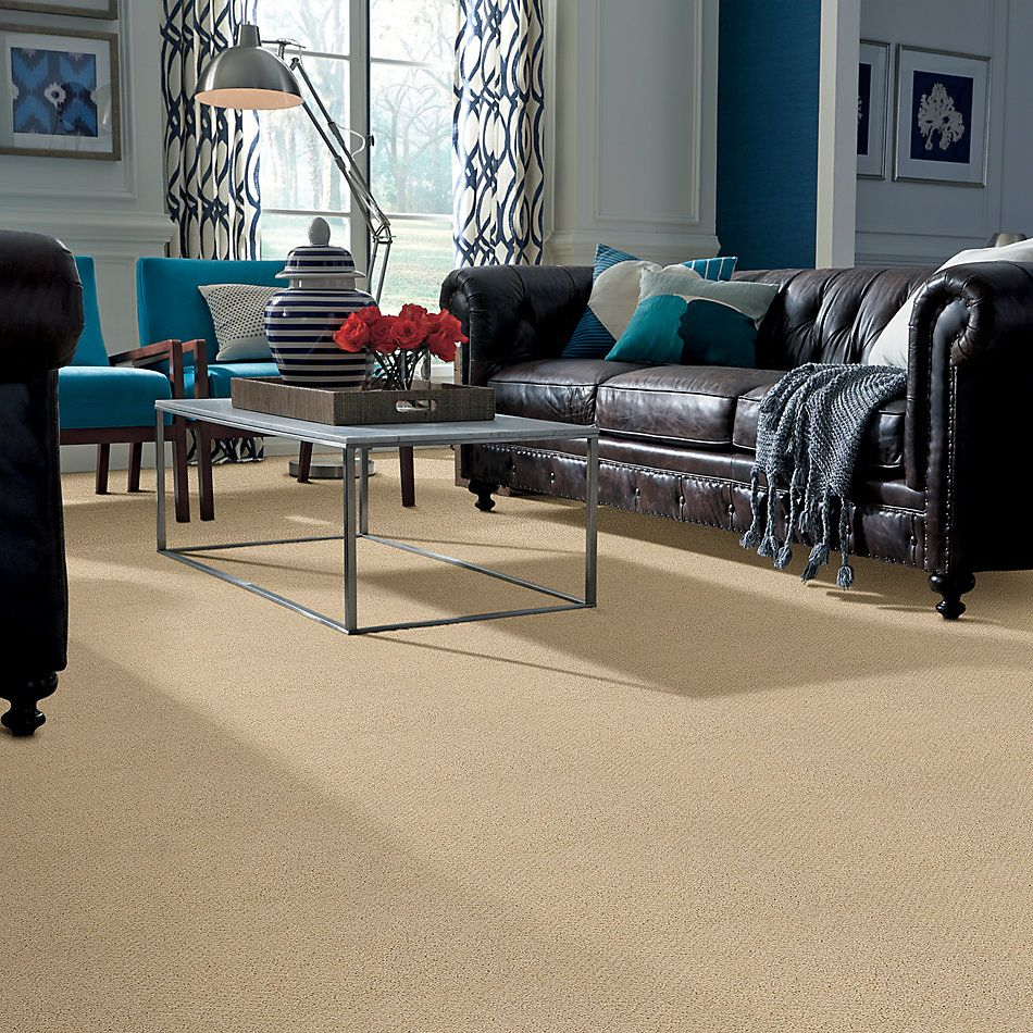 Shaw Floors Shaw On Shelf Playa Azul Blonde Cashmere 00106_SOS83