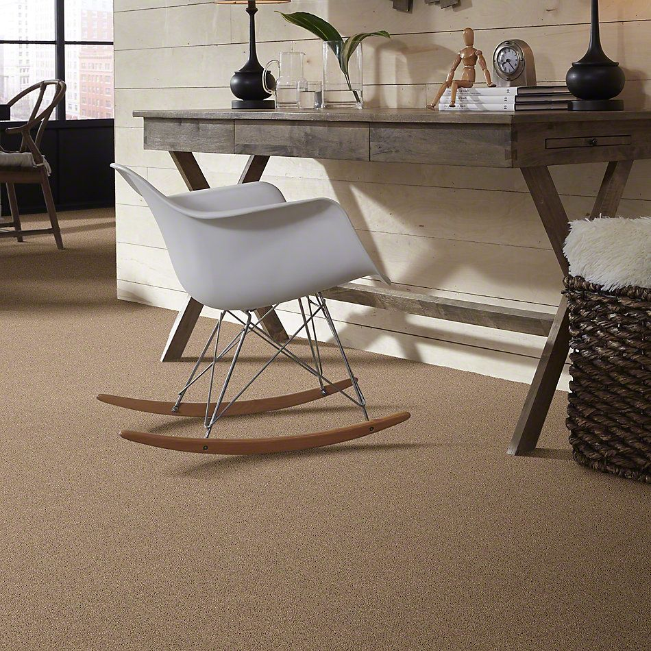 Shaw Floors Value Collections Cabana Bay Solid Net Camel 00107_5E002