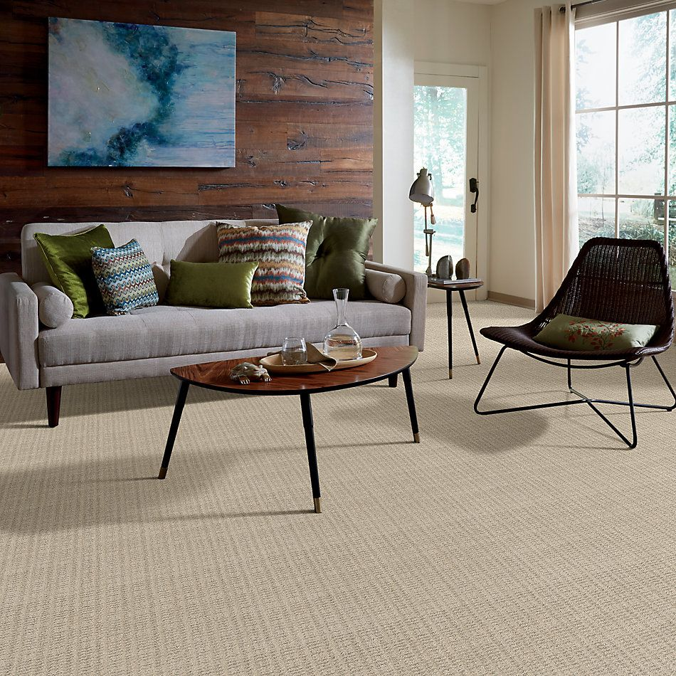Shaw Floors Value Collections Charming Transition Net Butter Cream 00107_5E357