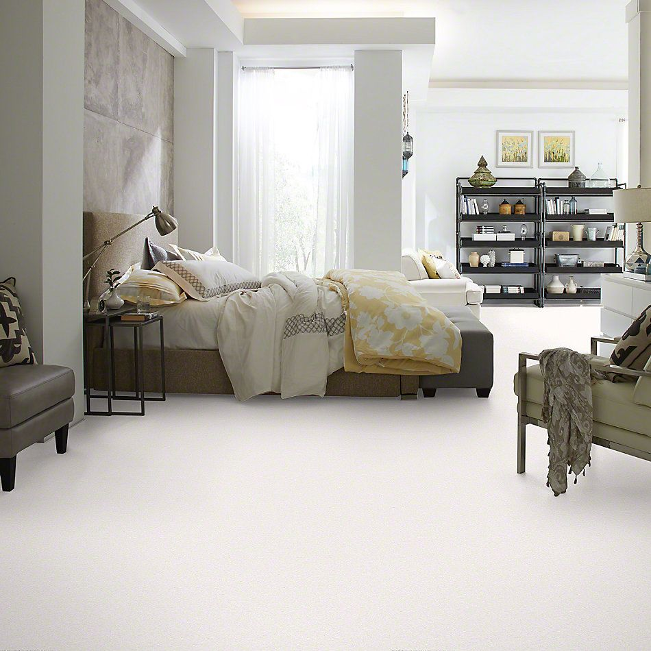 Shaw Floors Foundations Sandy Hollow Classic III 12′ Sweet Cream 00109_E0552