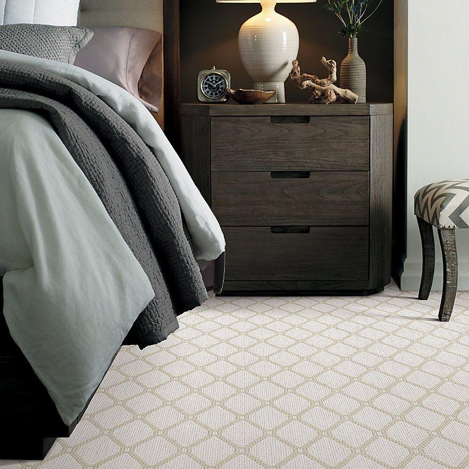 Anderson Tuftex American Home Fashions Neat Star Capri Cream 00112_ZA888