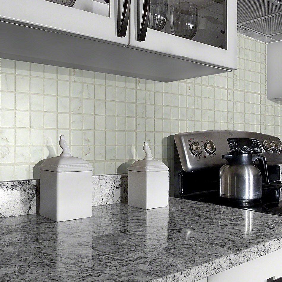 Shaw Floors Ceramic Solutions Glacier Mosaic Gold 00120_CS17P