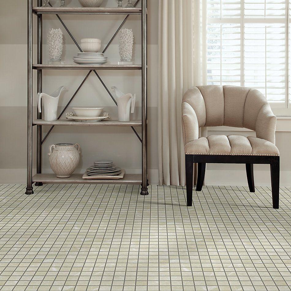 Shaw Floors Home Fn Gold Ceramic Illusion Mosaic 2×2 Retreat 00120_TG66B