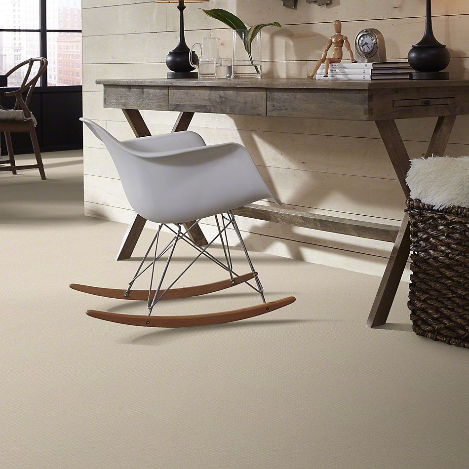 Shaw Floors Enduring Comfort Pattern Pale Cream 00121_E0404