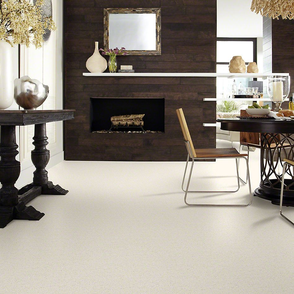 Shaw Floors Caress By Shaw Quiet Comfort Classic II Fresh Cream 00121_CCB97