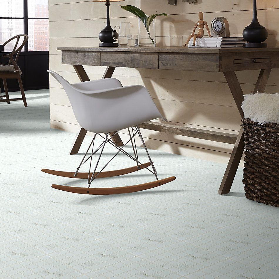 Shaw Floors Ceramic Solutions Range Mosaic Polished Calacatta 00121_CS33Z