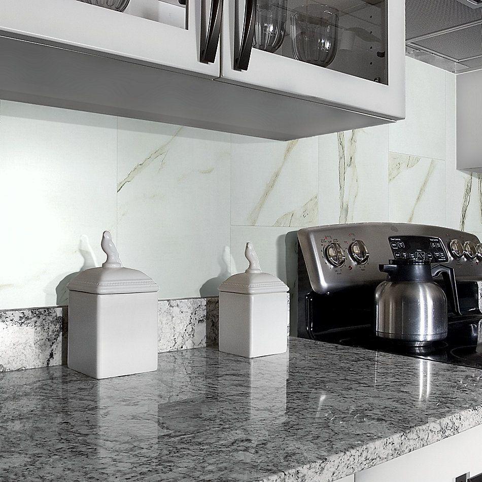 Shaw Floors Home Fn Gold Ceramic Marvel 12×24 Matte Calacatta 00121_TG02C