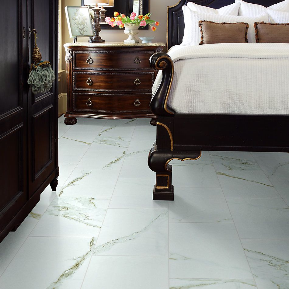 Shaw Floors Home Fn Gold Ceramic Marvel 12×24 Polish Calacatta 00121_TG10C