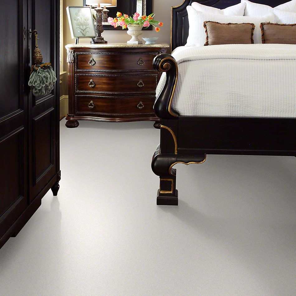 Shaw Floors Anso Colorwall Gold Texture Snow Cap 00122_EA571