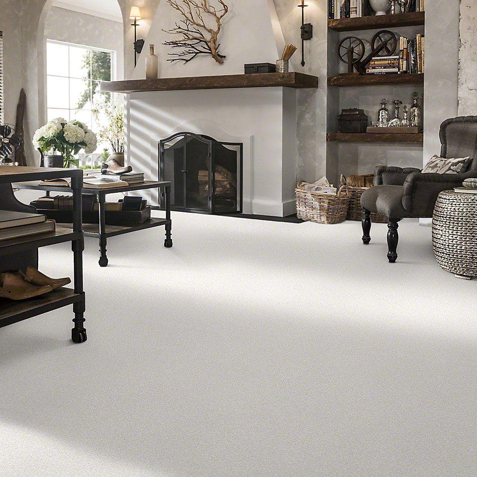 Shaw Floors Anso Colorwall Gold Twist Snow Cap 00122_EA575