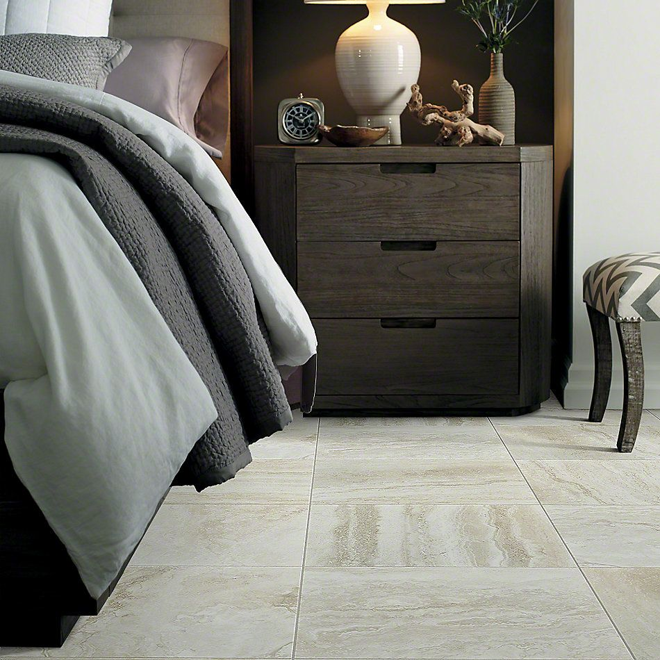 Shaw Floors Ceramic Solutions Genesis 18×18 Ivory 00125_CS24V