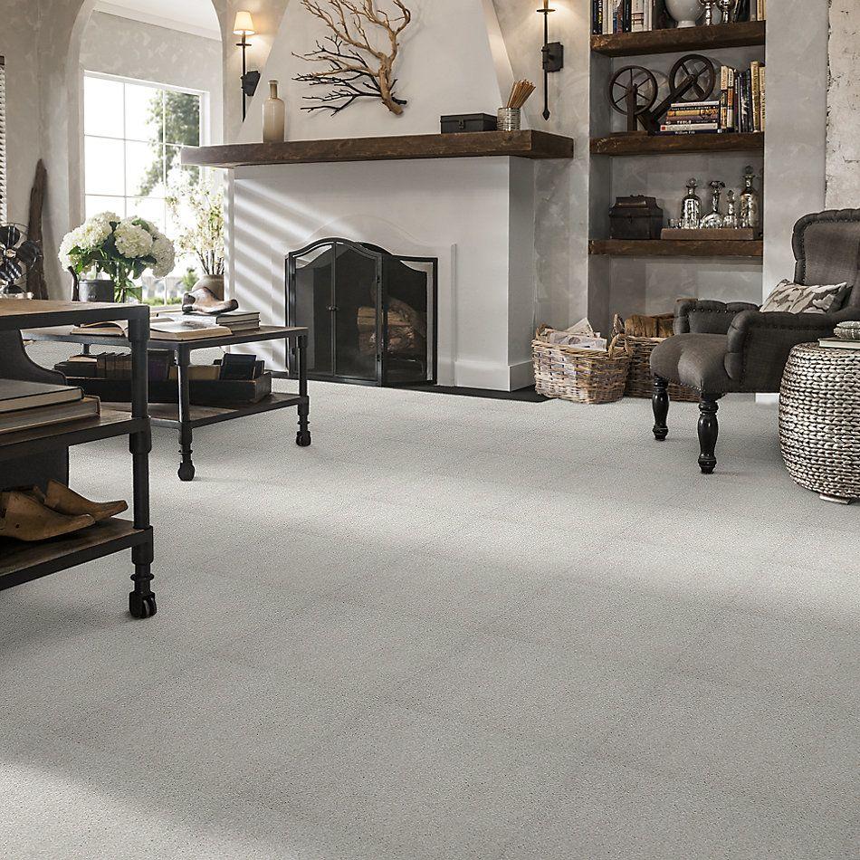Shaw Floors Foundations Take The Floor Texture Blue Pebble Path 00135_5E007