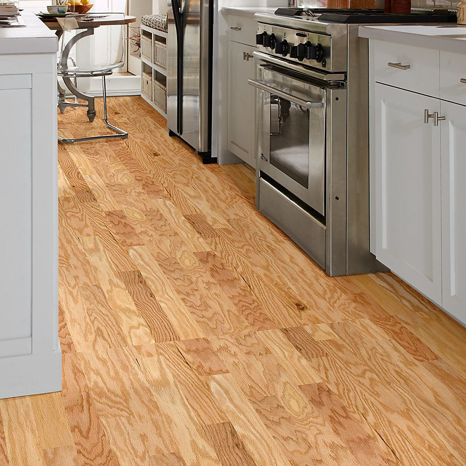Shaw Floors Duras Hardwood All In II 3.25 Rustic Natural 00135_HW581