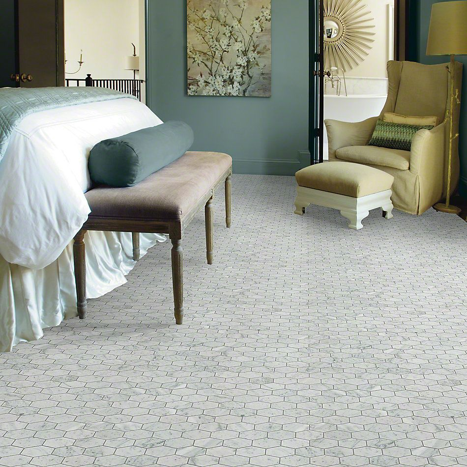 Shaw Floors Ceramic Solutions Chateau Stretch Bianco Carrara 00150_CS19X