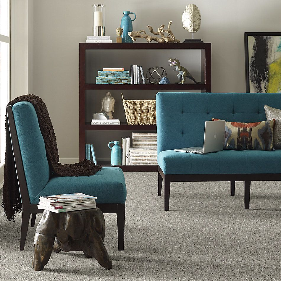 Shaw Floors Home Foundations Gold Emerald Bay II Textured Canvas 00150_HGN52