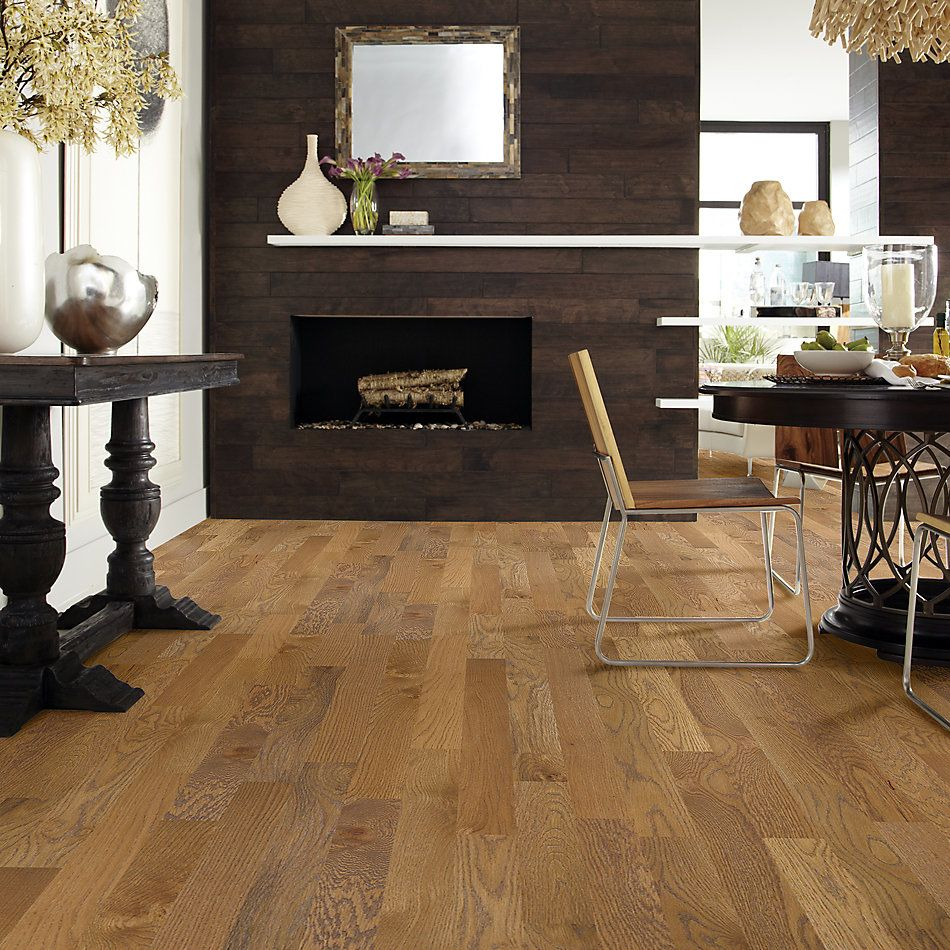 Shaw Floors Home Fn Gold Hardwood Crossville Cove Wheat Field 00150_HW518