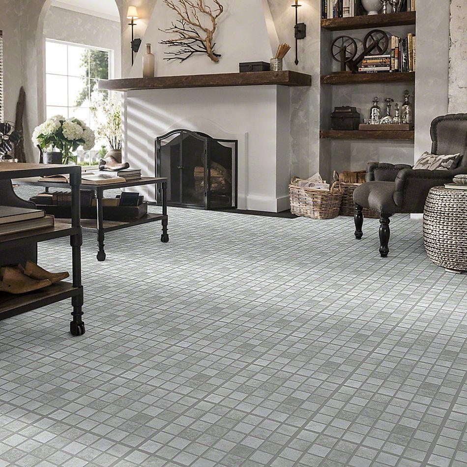 Shaw Floors SFA Foundry Mosaic Aluminum 00150_SA966