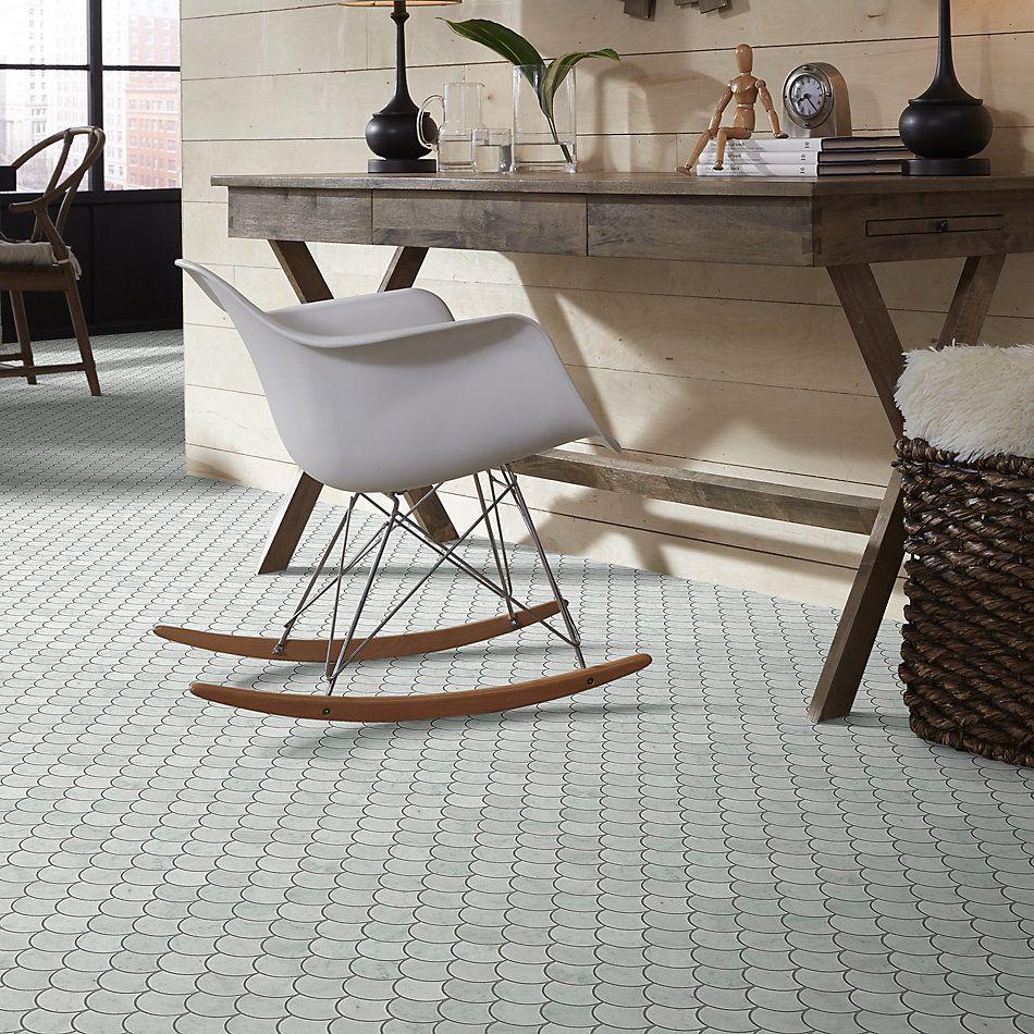 Shaw Floors Home Fn Gold Ceramic Estate Fan Mo Bianco Carrara 00150_TG36C