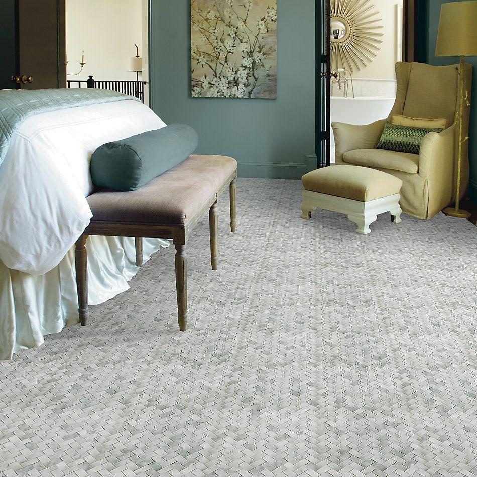 Shaw Floors Home Fn Gold Ceramic Estate Woven Mo Bianco Carrara 00150_TG39C