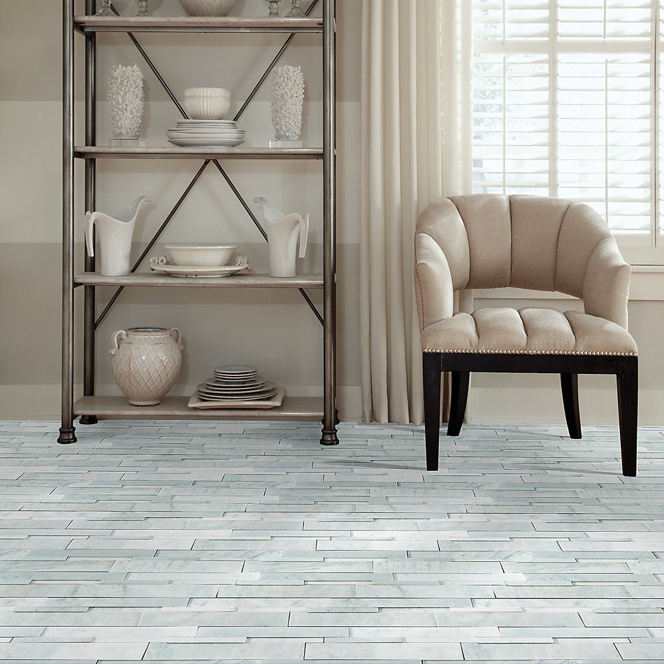 Shaw Floors Home Fn Gold Ceramic Milestone Bianco Venatino 00150_TG56D