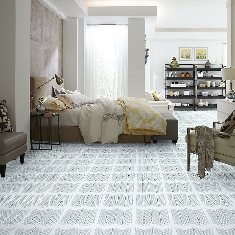 Shaw Floors Home Fn Gold Ceramic Principal Chevron Glass Mo Skylight 00150_TG78B