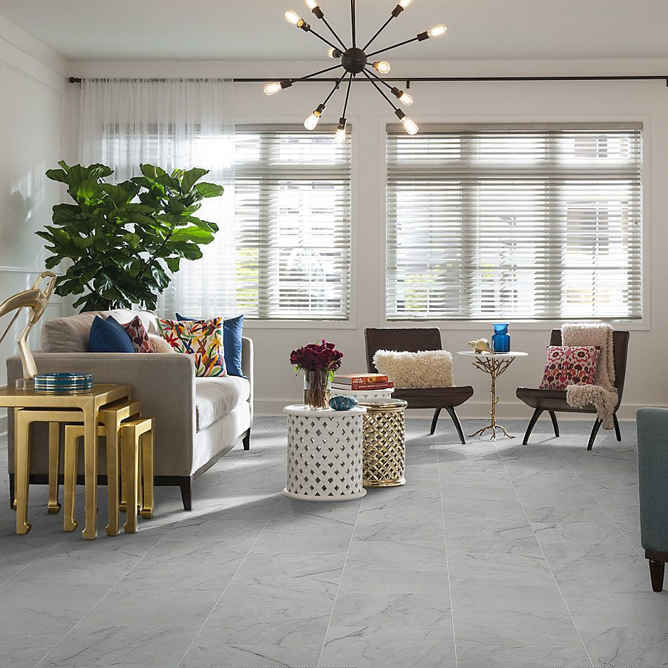 Shaw Floors Home Fn Gold Ceramic Altero 13×13 Carrara 00150_TG87C