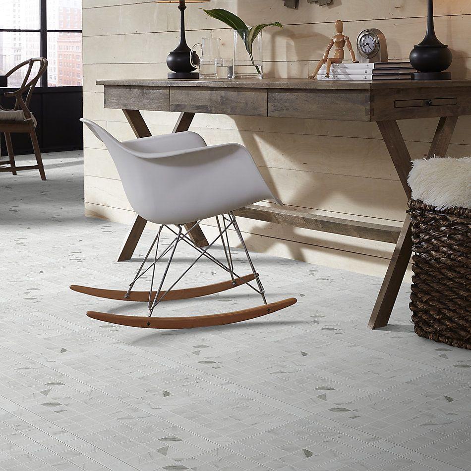 Shaw Floors Home Fn Gold Ceramic Altero Mosaic Carrara 00150_TG88C