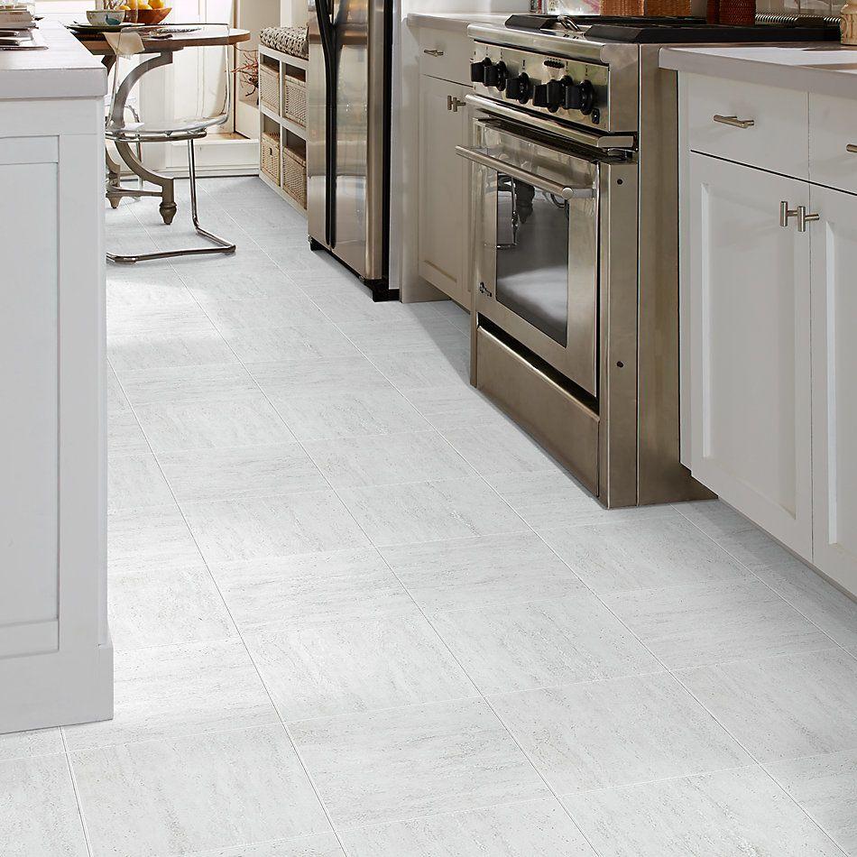 Shaw Floors Home Fn Gold Ceramic Travertino 13×13 Light Grey 00150_TGH13