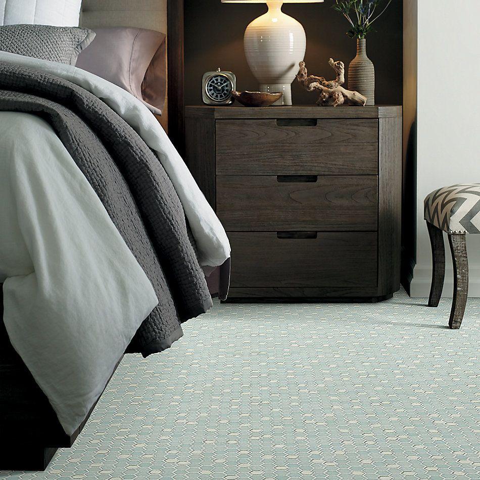 Shaw Floors Home Fn Gold Ceramic Molten Hexagon Glass Platinum 00150_TGJ82