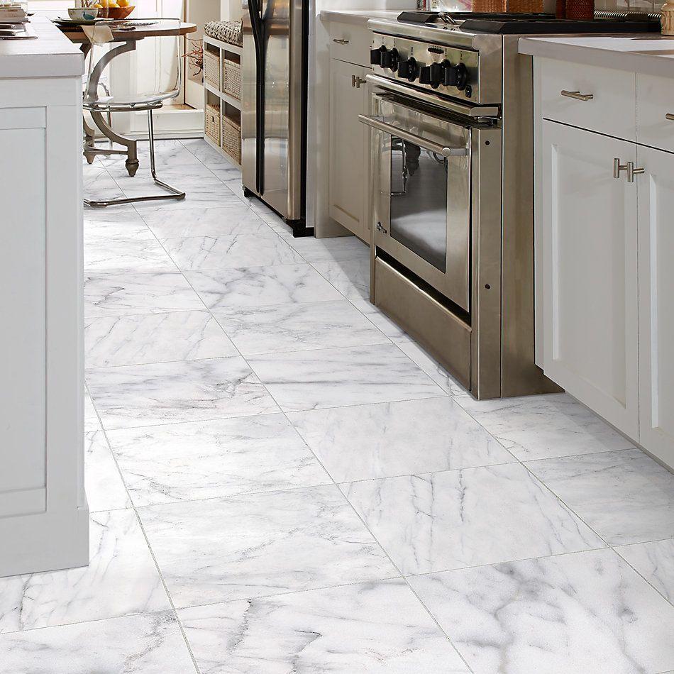 Shaw Floors Home Fn Gold Ceramic Caracalla 18×18 Carrara 00150_TGM44