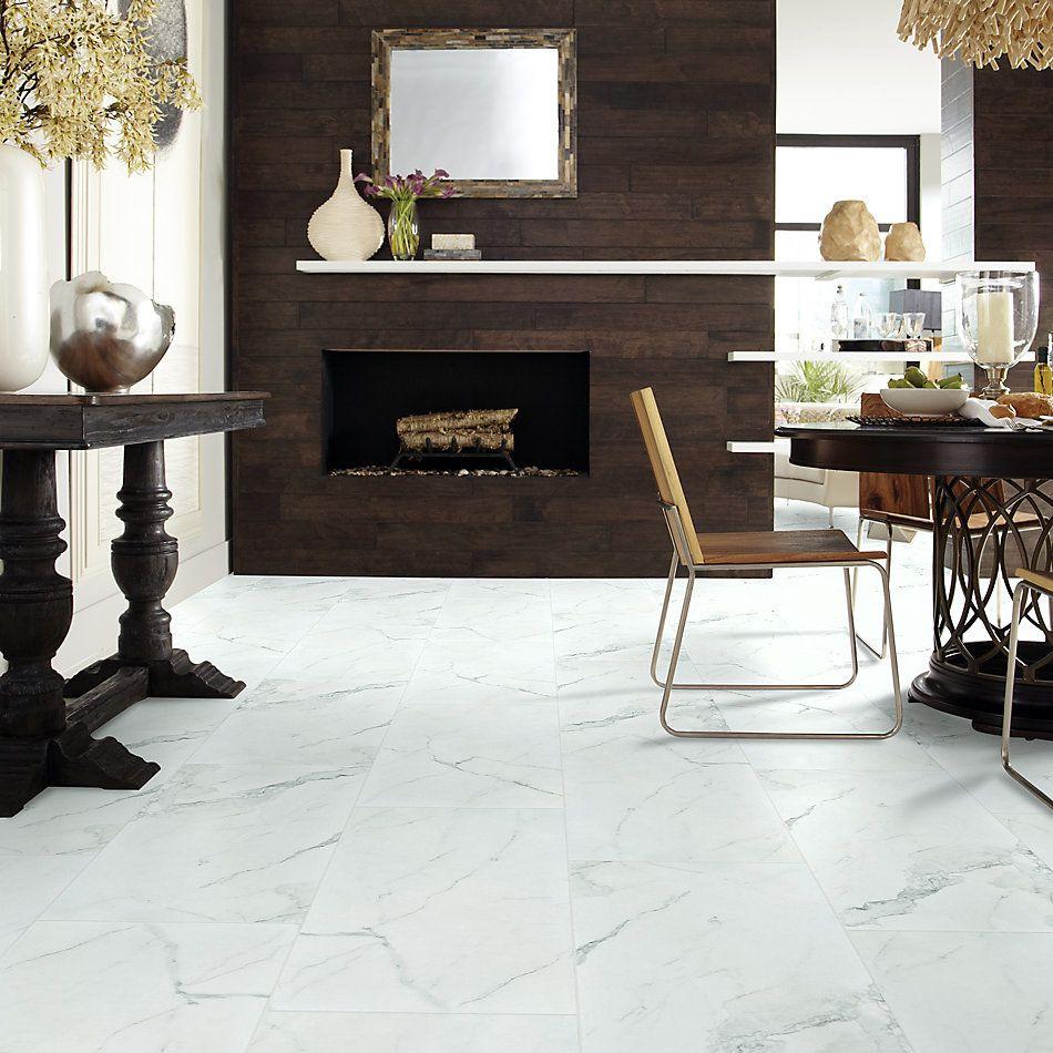 Shaw Floors Home Fn Gold Ceramic Stonehenge 16×32 Polish Statuario 00151_TG48D
