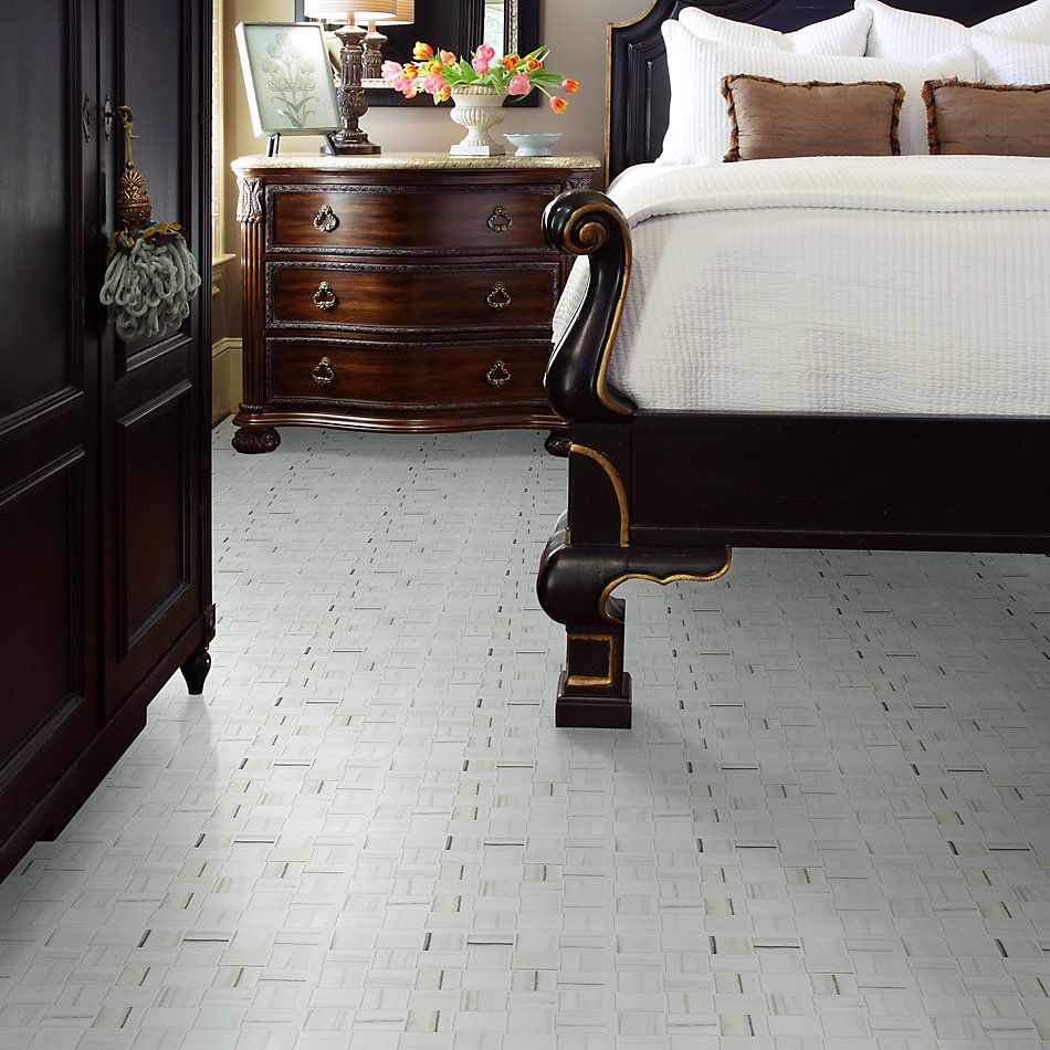 Shaw Floors Ceramic Solutions Casino Bw Mosaic Plsh Zebrino 00155_CS91Z