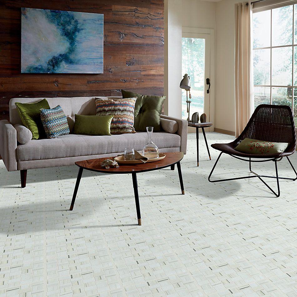 Shaw Floors Ceramic Solutions Casino Bw Mosaic Plsh Zebrino 00155_CS91Z