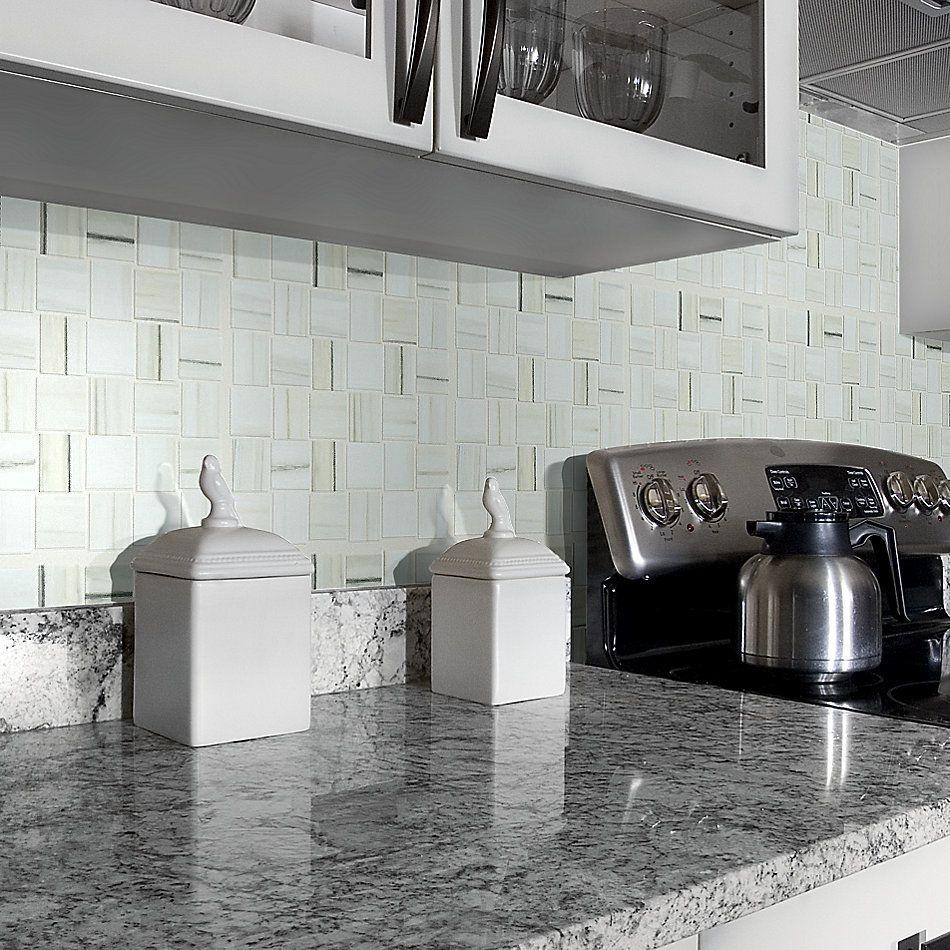Shaw Floors Home Fn Gold Ceramic Stonehenge Bw Mosaic Plsh Zebrino 00155_TG50D