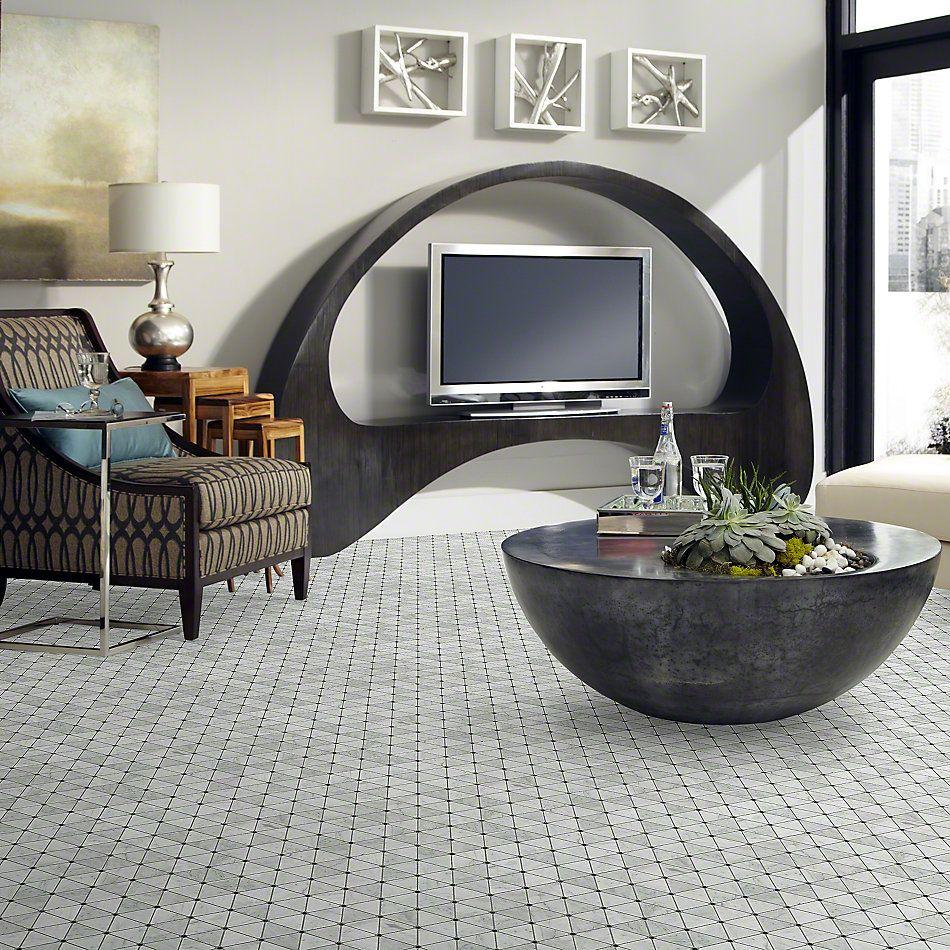 Shaw Floors Ceramic Solutions Chateau Tria W/D Bianco Carrara 00159_CS21X