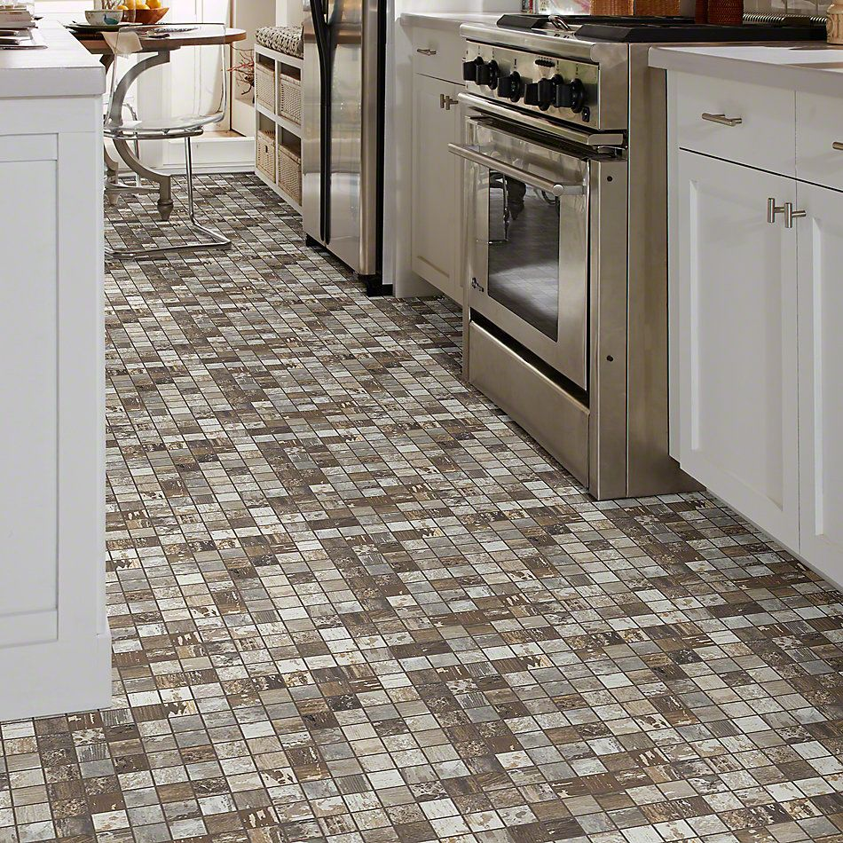 Shaw Floors Ceramic Solutions Timbered Mosaic Beech 00170_CS48X