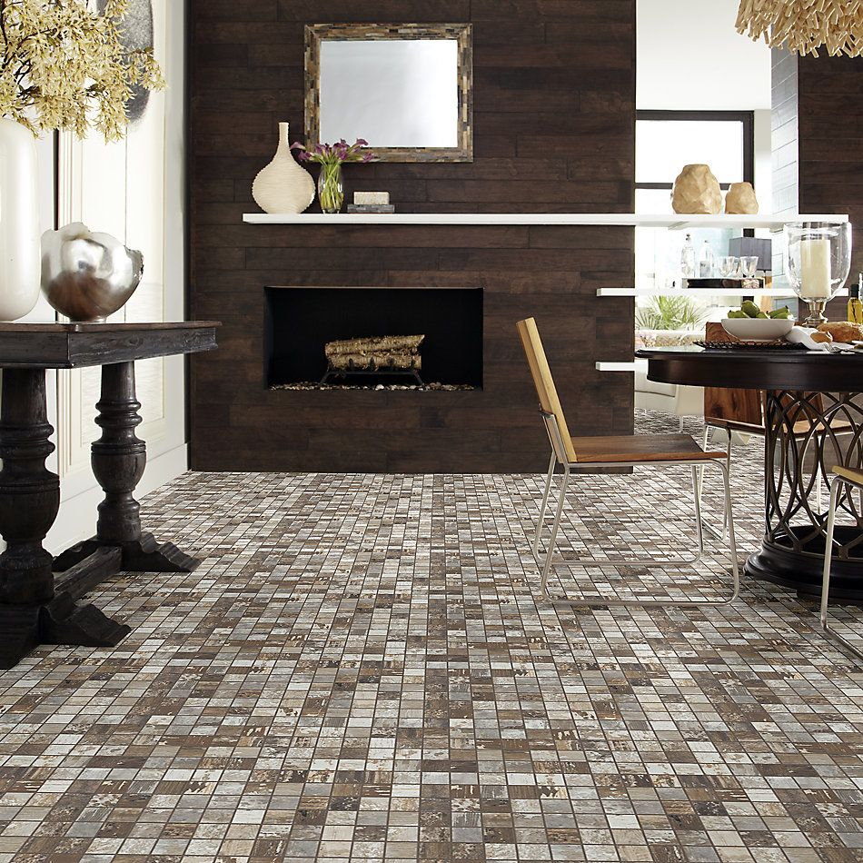 Shaw Floors Home Fn Gold Ceramic Sleepy Hollow Mosaic Beech 00170_TG48C