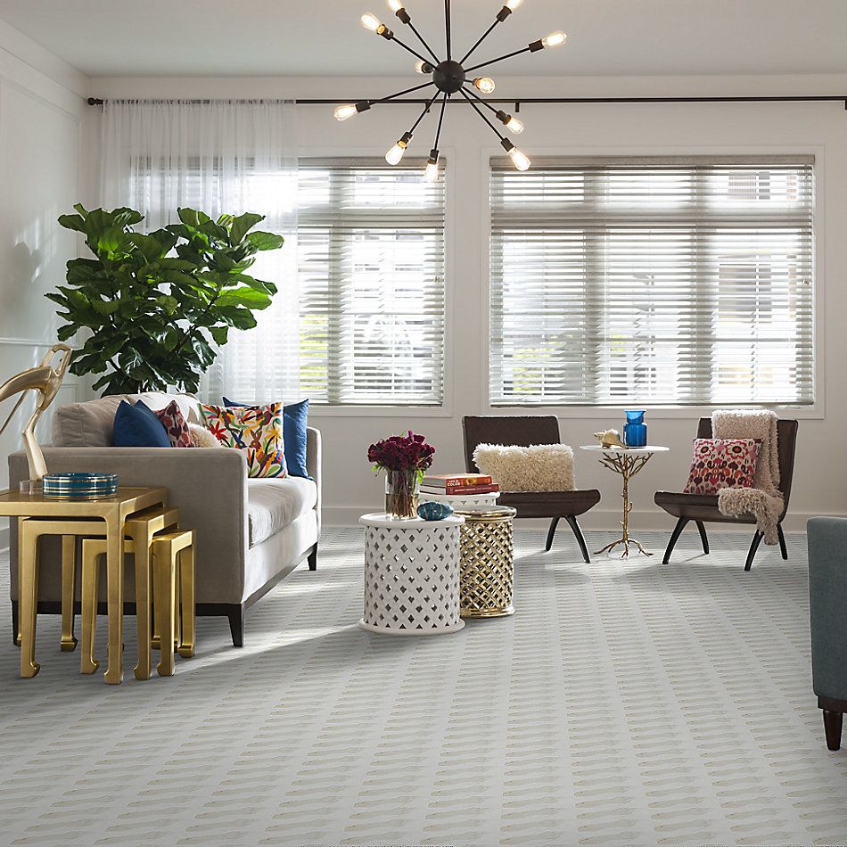 Shaw Floors Home Fn Gold Ceramic Caracalla 3×6 Wall Calacatta 00170_TGM46