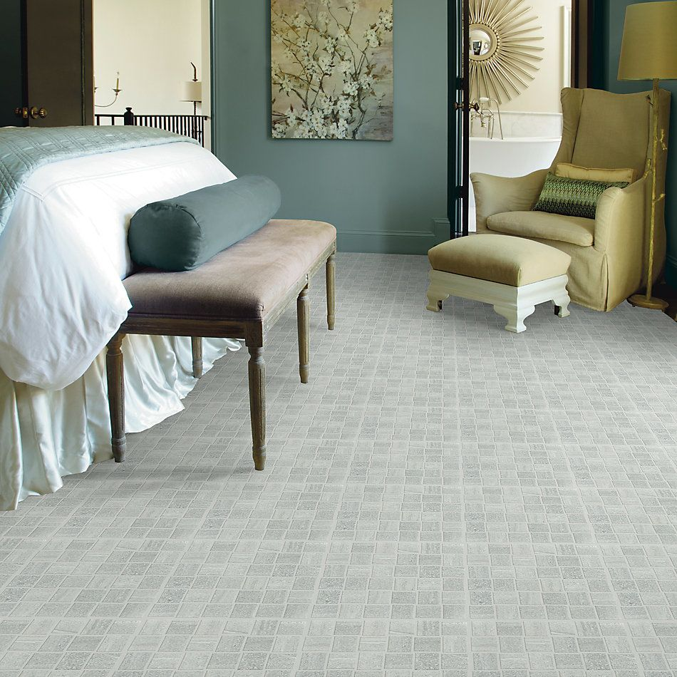 Shaw Floors SFA Origin Basketweave Mosaic Zinc 00190_SA935