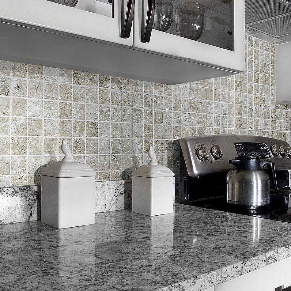 Shaw Floors Ceramic Solutions Stonework Mosaic Beige 00200_263TS