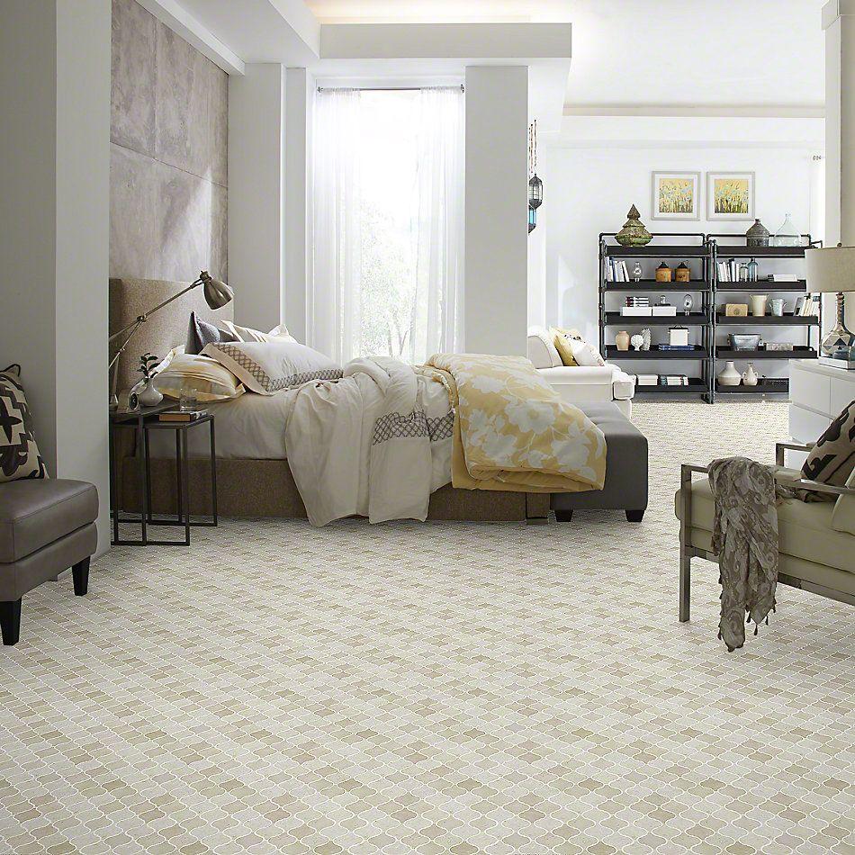 Shaw Floors Ceramic Solutions Chateau Lantern Mosaic Crema Marfil 00200_CS55P