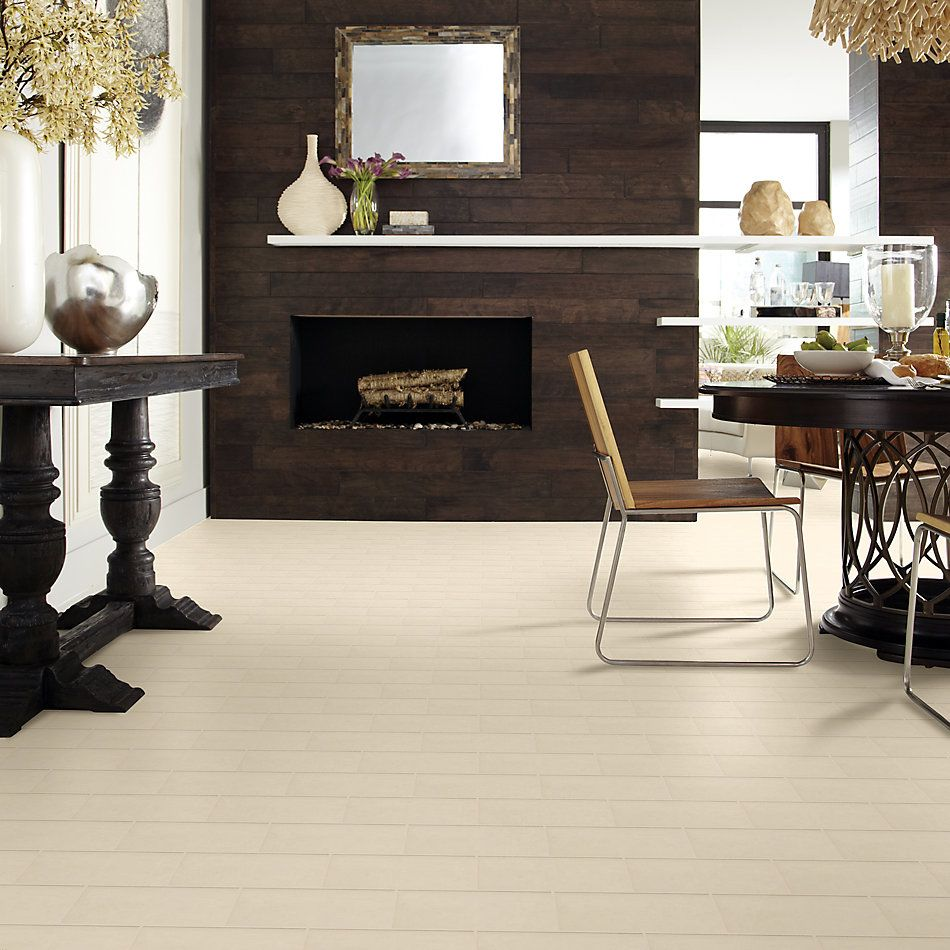 Shaw Floors Ceramic Solutions Elegance 3×6 Bn Gloss Linen 00200_CS35L