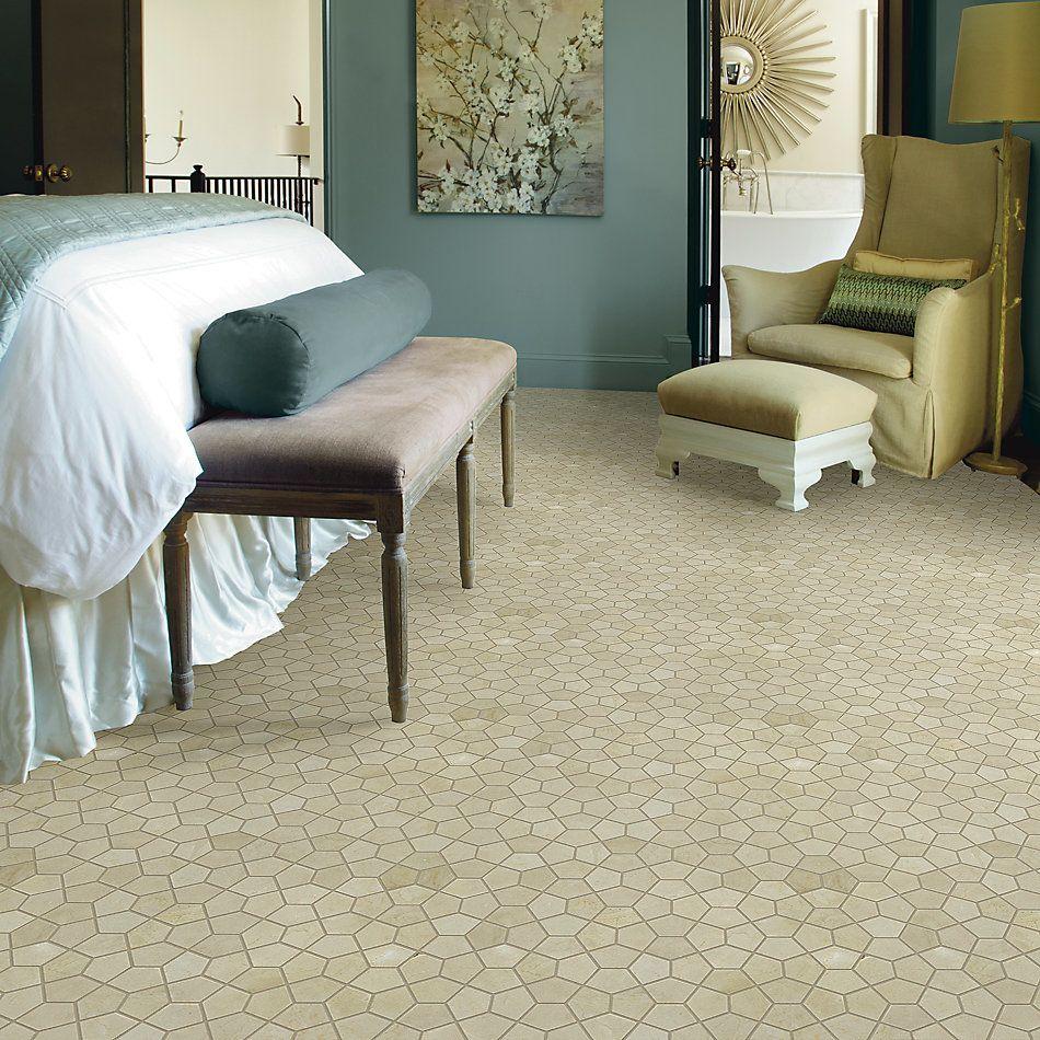 Shaw Floors Home Fn Gold Ceramic Estate Pent Mo Crema Marfil 00200_TG38C