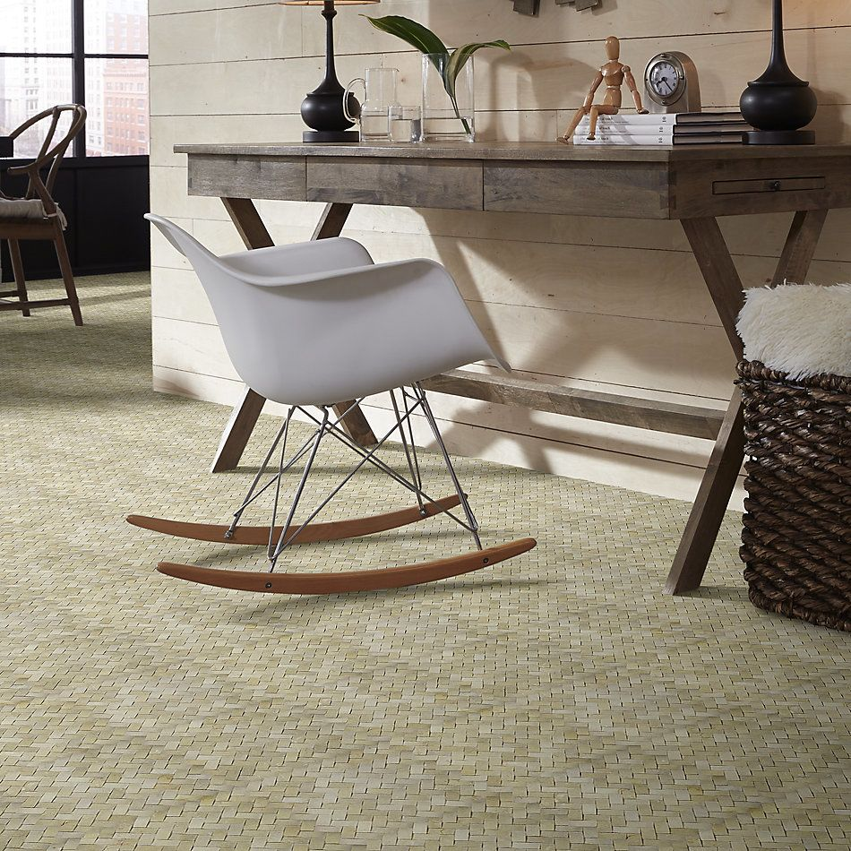 Shaw Floors Home Fn Gold Ceramic Estate Woven Mo Crema Marfil 00200_TG39C
