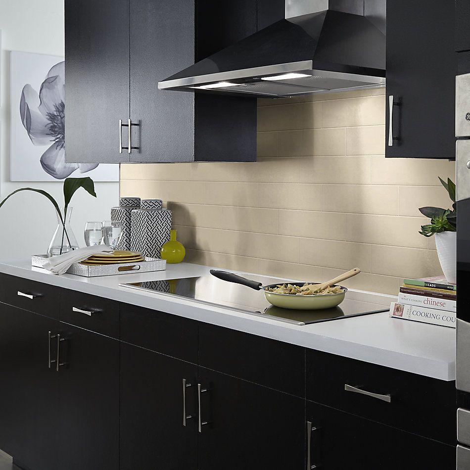 Shaw Floors Home Fn Gold Ceramic Baker Street 4×16 Gloss Linen 00200_TGL84