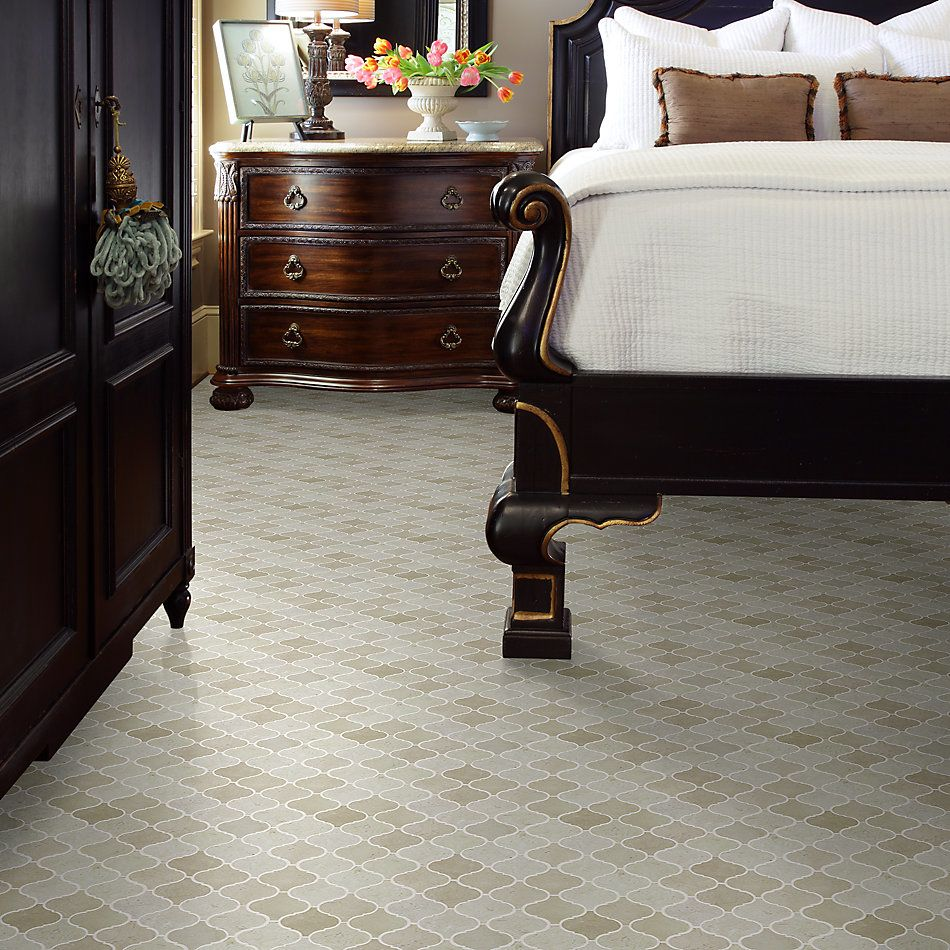 Shaw Floors Home Fn Gold Ceramic Estate Lantern Mosaic Crema Marfil 00200_TGN86