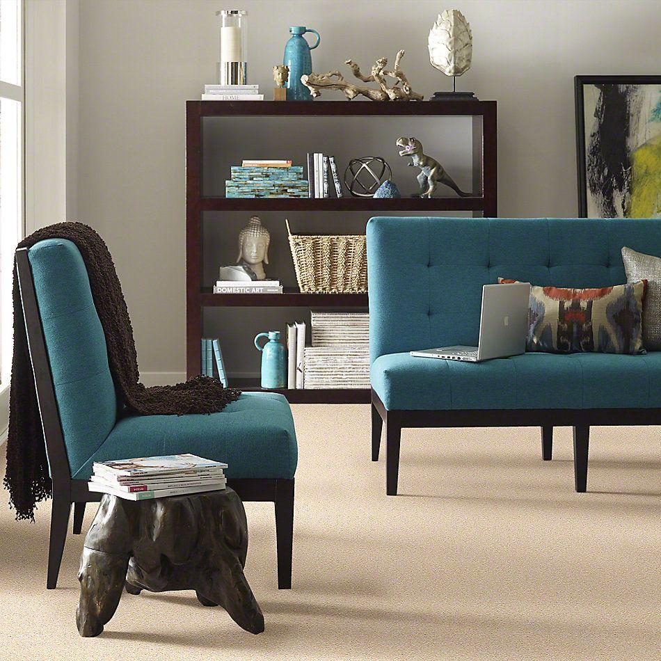 Shaw Floors Queen Sandy Hollow II 12′ Marzipan 00201_Q4275