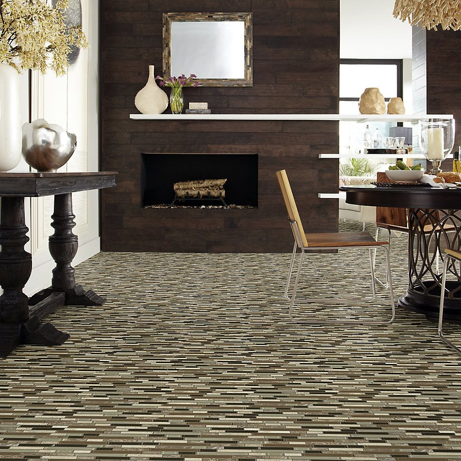 Shaw Floors Toll Brothers Ceramics Awesome Mix Random Linear Mosi Bamboo 00210_TL63B