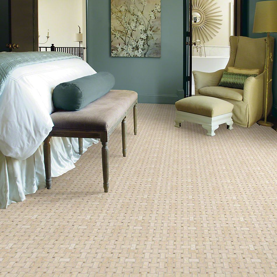 Shaw Floors Ceramic Solutions Boca Basketweave Mosaic Windsurf 00220_CS80K