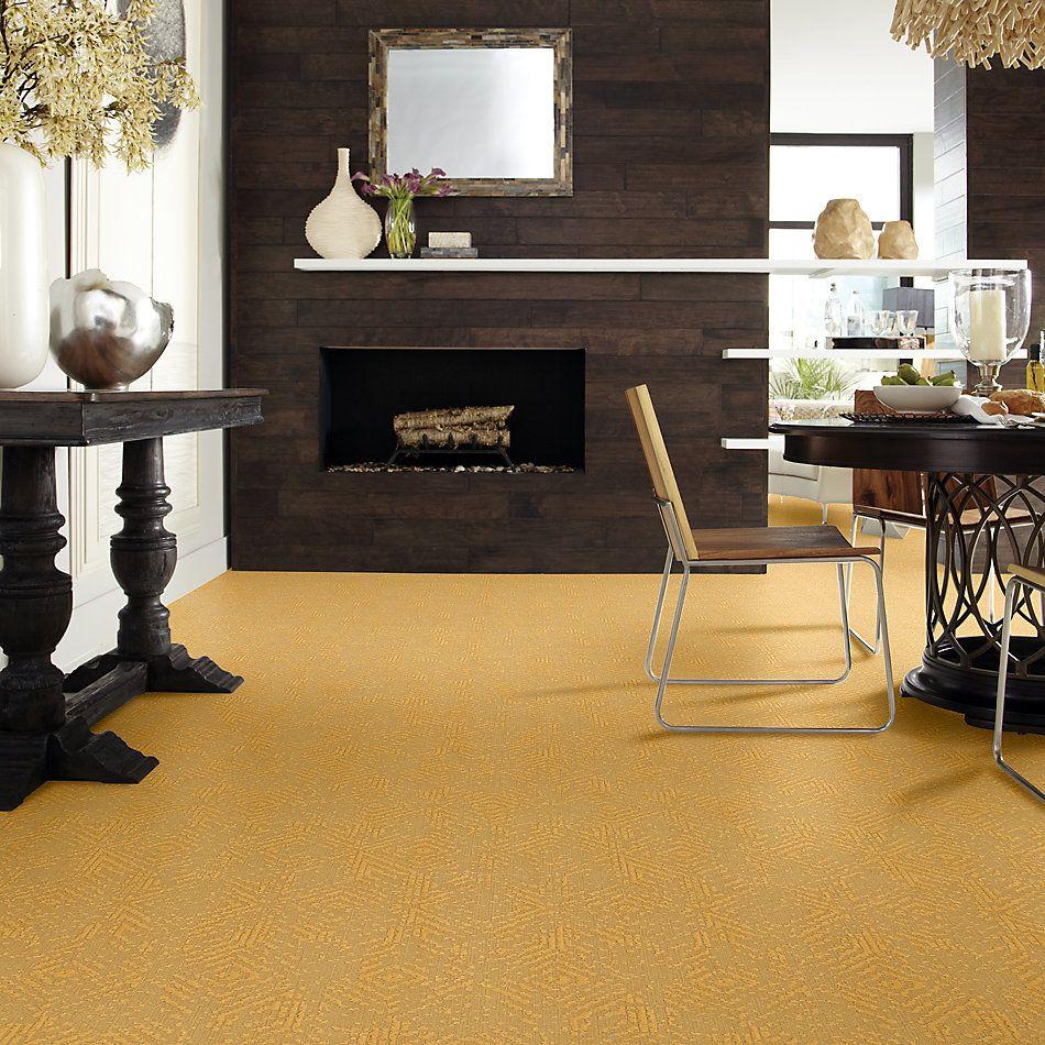 Shaw Floors Caress By Shaw Vintage Revival Net Turmeric 00250_5E381